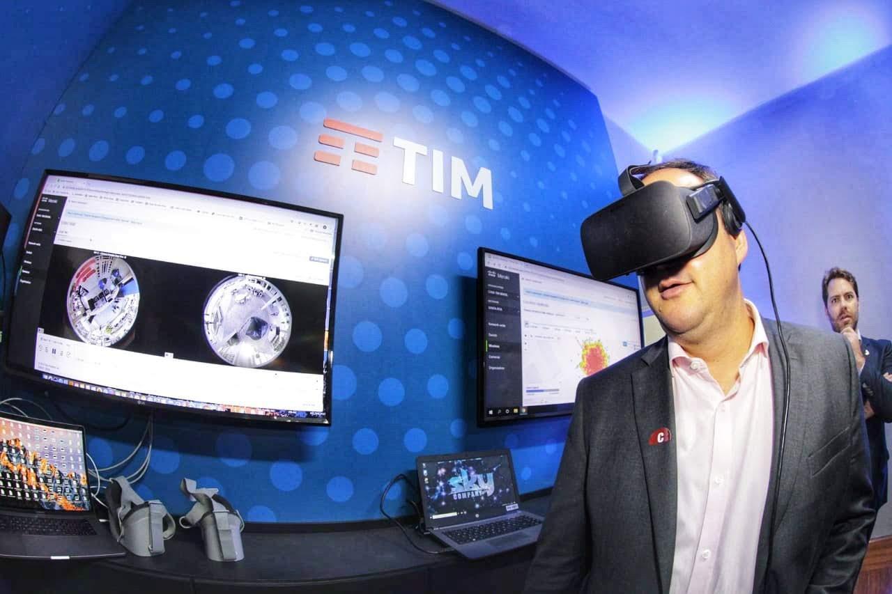 Tim e parceiros inauguram laboratório 5G